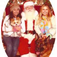Photos with Santa in and around Los Angeles