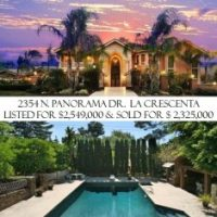 La Crescenta July 2014 Luxury Real Estate Sales