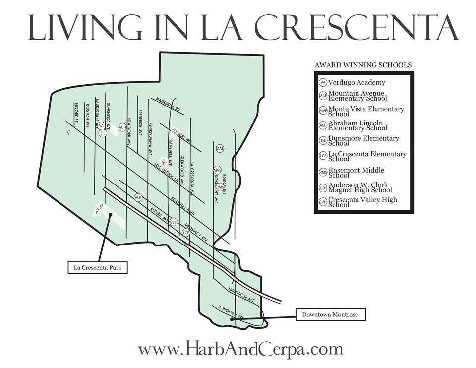 La-Crescenta-map