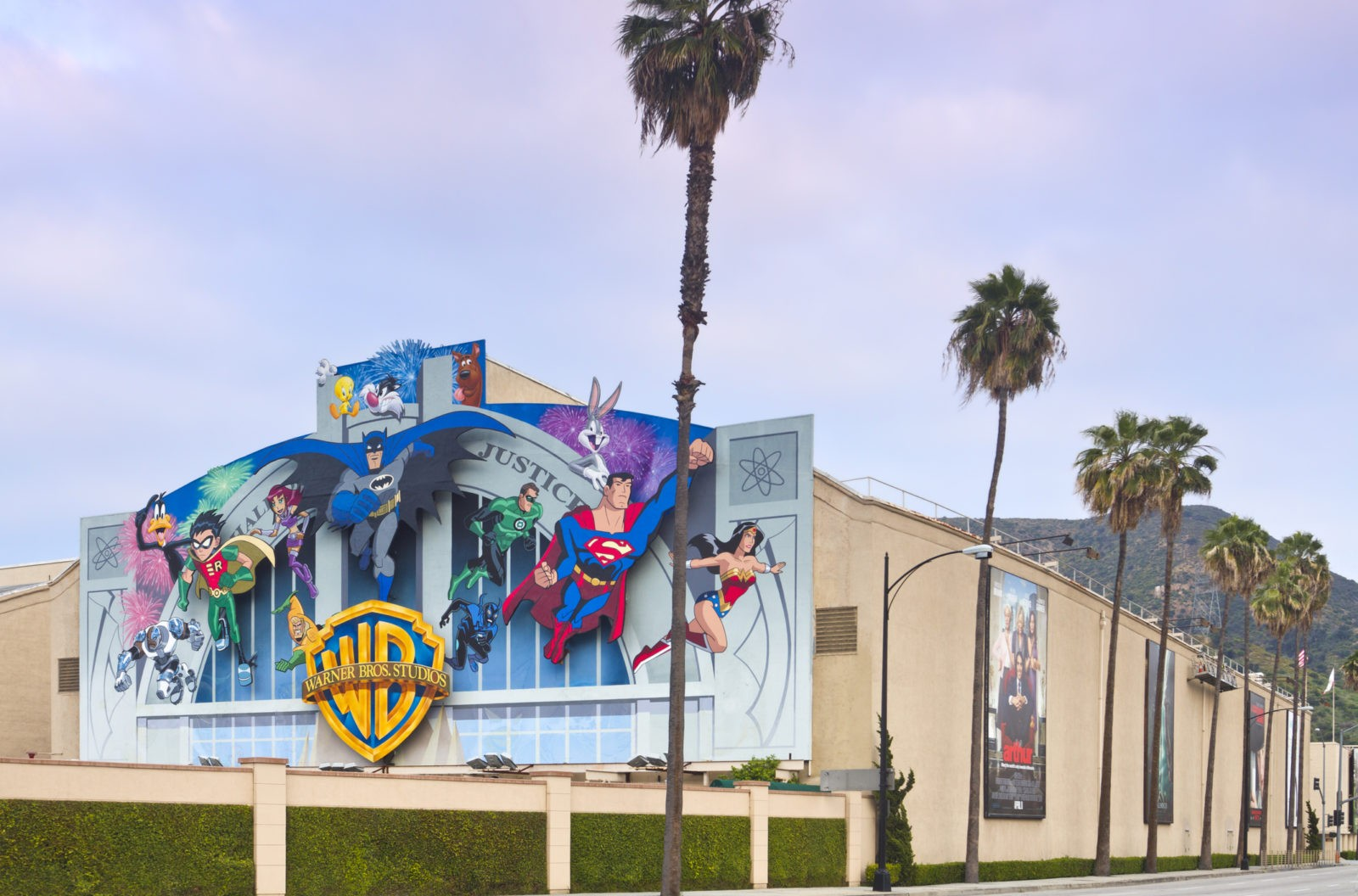 Warner Bros. Film Studio in Burbank, CA