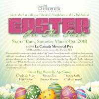 Easter in the Park, La Canada Dilbeck