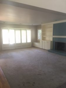 La Canada home staging before