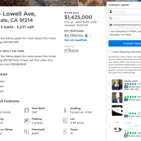 zillow real estate la cresenta listings