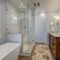 Bathroom staging on a budget