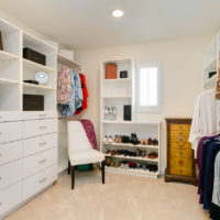 reorganizing your closet