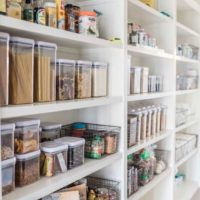 staging your walk-in pantry