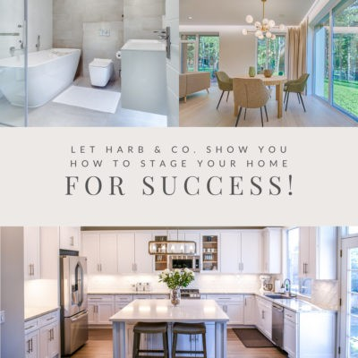 Stage your home for success